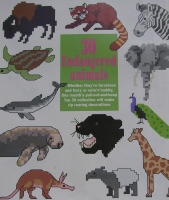 30 Endangered Animals ~ Cross Stitch Charts