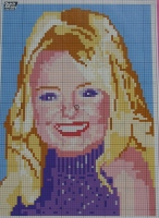 Baby Spice: Emma Bunton ~ Cross Stitch Chart