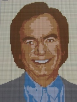 Neil Diamond Singer ~ Cross Stitch Chart