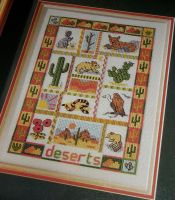 Deserts Sampler ~ Cross Stitch Chart