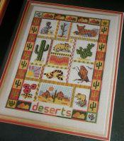 Deserts Sampler ~ Cross Stitch Chart