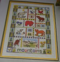 Mountains Sampler ~ Cross Stitch Chart