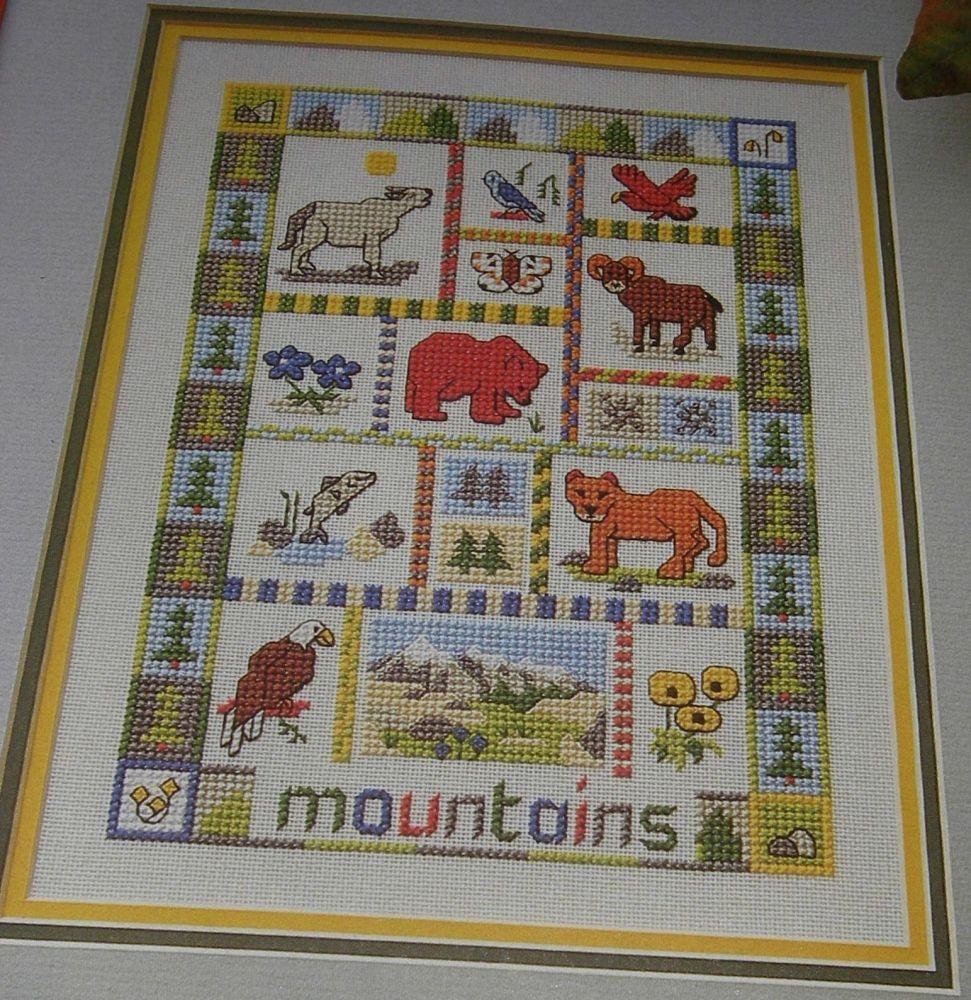 Mountains Sampler ~ Cross Stitch Chart