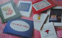 Valentine Cards ~ Nine Cross Stitch Charts