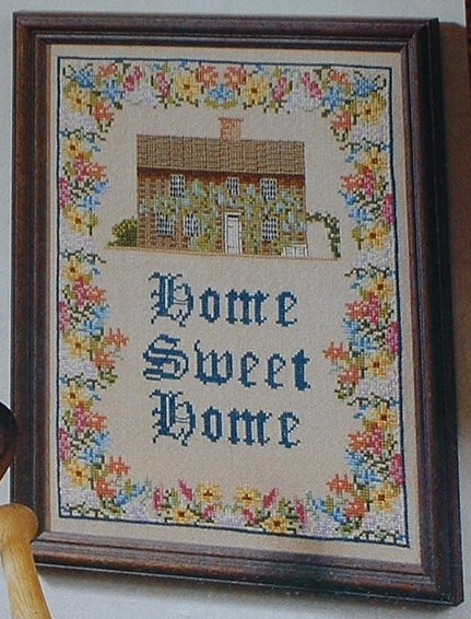 Home Sweet Home Sampler ~ Cross Stitch Chart