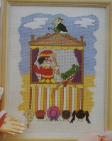 Punch & Judy Show ~ Cross Stitch Chart