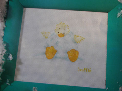 Duck in a Snowball ~ Cross Stitch Chart