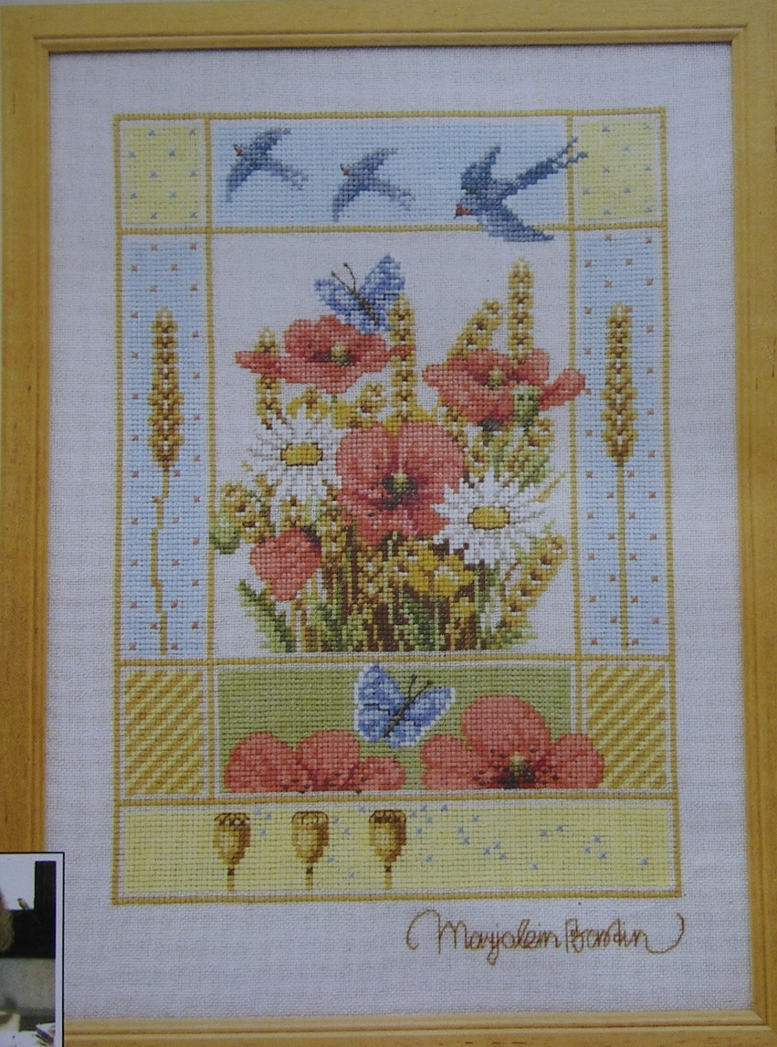 Lanarte Marjolein Bastin: Summer 34280A ~ Cross Stitch Kit