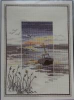 Derwentwater Designs: Sunsets Low Tide ~ Cross Stitch Kit
