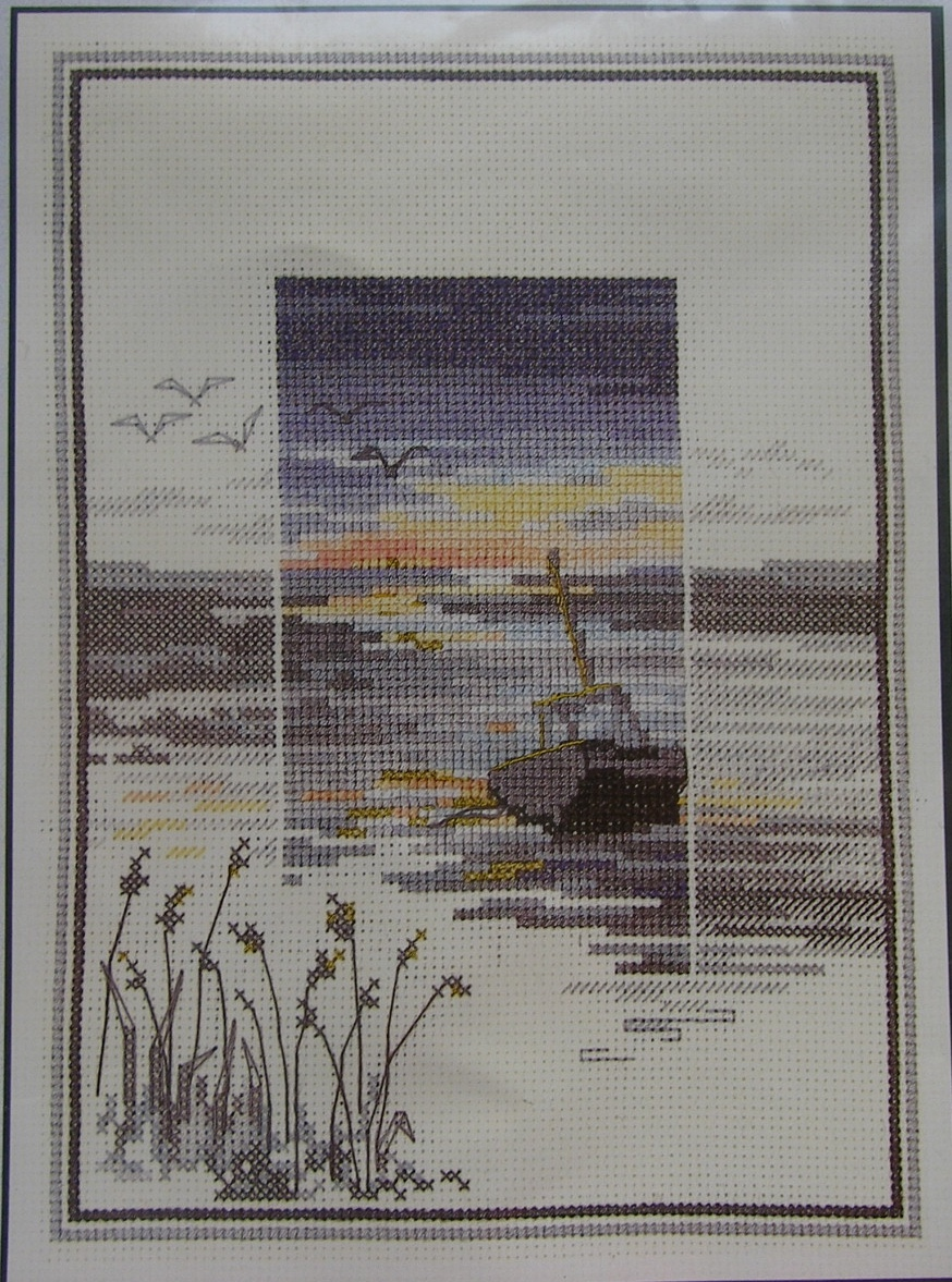 Derwentwater Designs: Sunsets Low Tide ~ Cross Stitch Kit