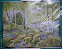 Needlepoise Country Classics: Bluebells & Birches CC101A ~ Cross Stitch Kit