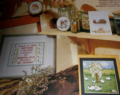 Countryside Animals ~ Six Cross Stitch Charts