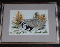 Badger ~ Cross Stitch Chart