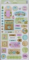 Doodlebug: Kitty Kitty ~ Cardstock Stickers