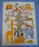 Animal Tree of Life ~ Cross Stitch Chart
