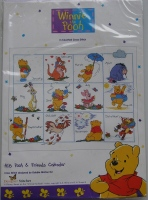Designer Stitches: Pooh & Friends Calendar ~ Cross Stitch Kit