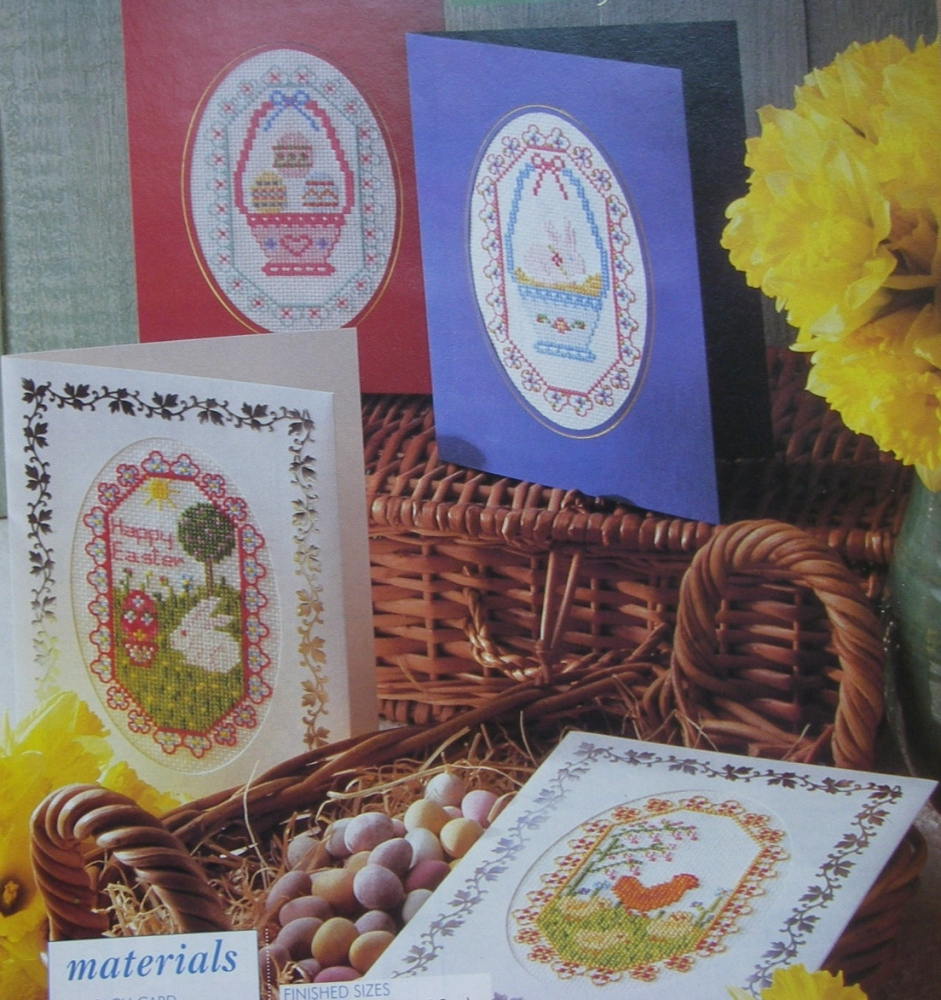 Easter Cards ~ Seven Cross Stitch Charts