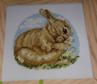 Spring Bunny Rabbit ~ Cross Stitch Chart