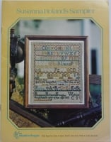 The Needle's Prayse ~ Susanna Roland's Sampler 1813 Cross Stitch Chart Booklet