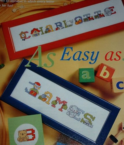 Children's ABC Alphabet ~ Cross Stitch Chart