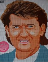 Irish Singer: Daniel O'Donnell ~ Cross Stitch Chart
