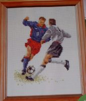 Thea Gouverneur: The Footballers ~ Cross Stitch Chart