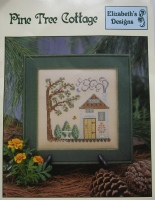 Elizabeth's Designs ~ Pine Tree Cottage: Cross Stitch Chart Booklet