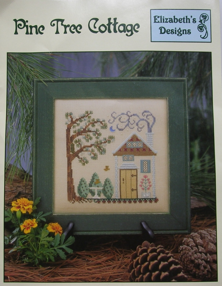 Elizabeth's Designs ~ Pine Tree Cottage: Cross Stitch Pattern Booklet