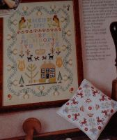 Traditional 19th Century Sampler ~ Cross Stitch Chart