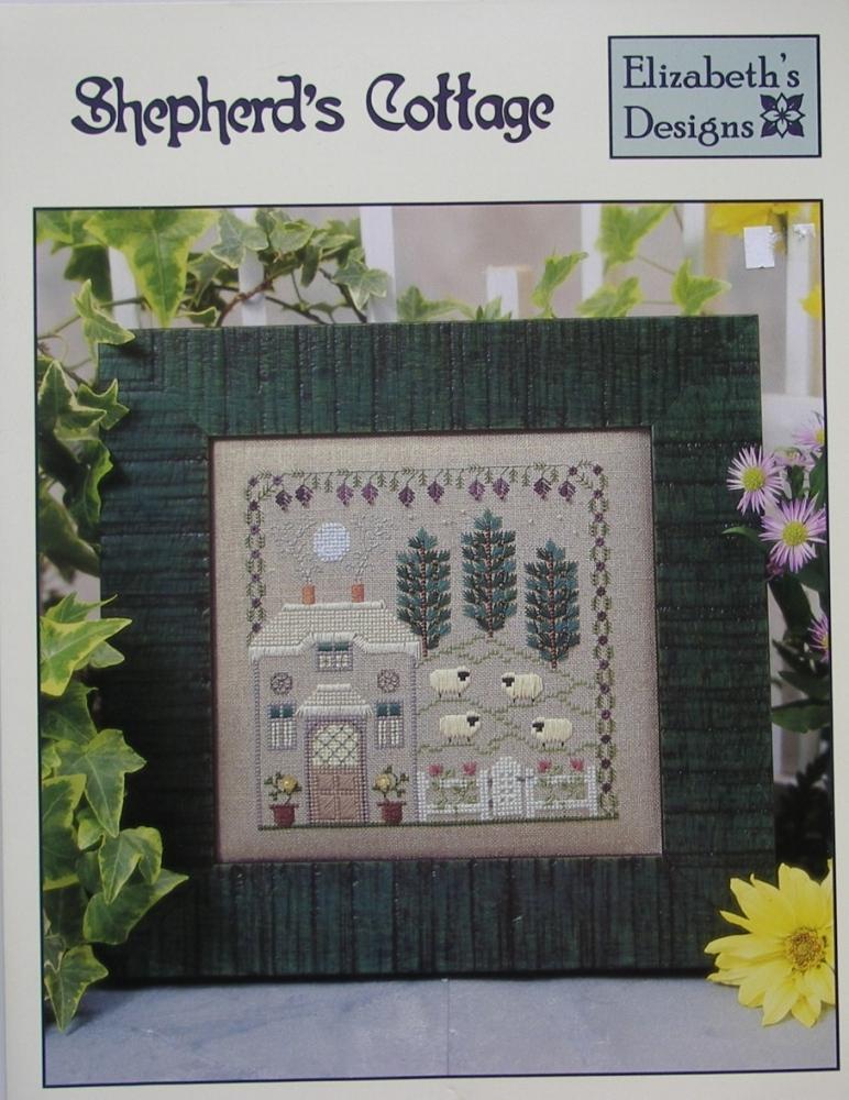 Elizabeth's Designs ~ Shepherd's Cottage: Cross Stitch Chart Booklet
