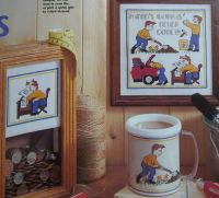 A Man's Work Is Never Done ~ Cross Stitch Charts