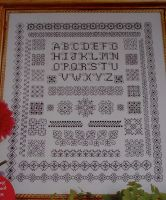 Reversible Blackwork Sampler ~ Blackwork Pattern