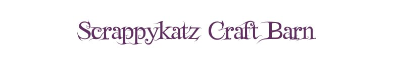 Scrappykatz Craft Barn, site logo.