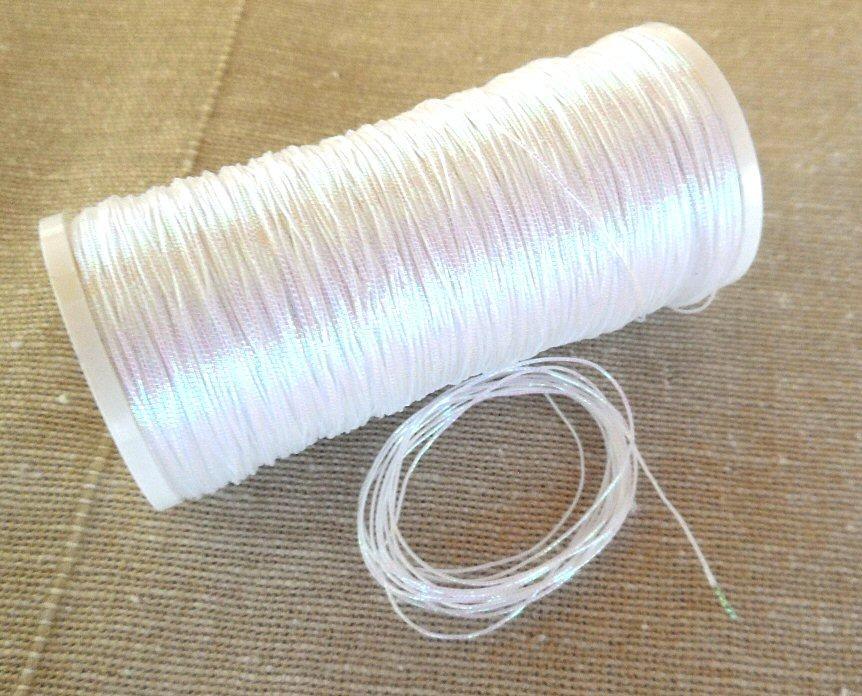 371 thread, white opal