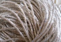 Silver Plated bright check purl No. 8, 50cm