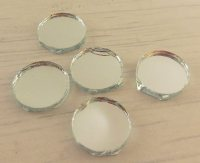 Round Shisha Mirrors (Qty 10, diameter 10mm)