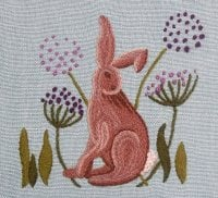 'Rufford Hare' crewelwork kit