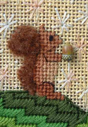 Critters - Squirrel detail