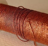 Copper Twist thread 1 1/2, 1m