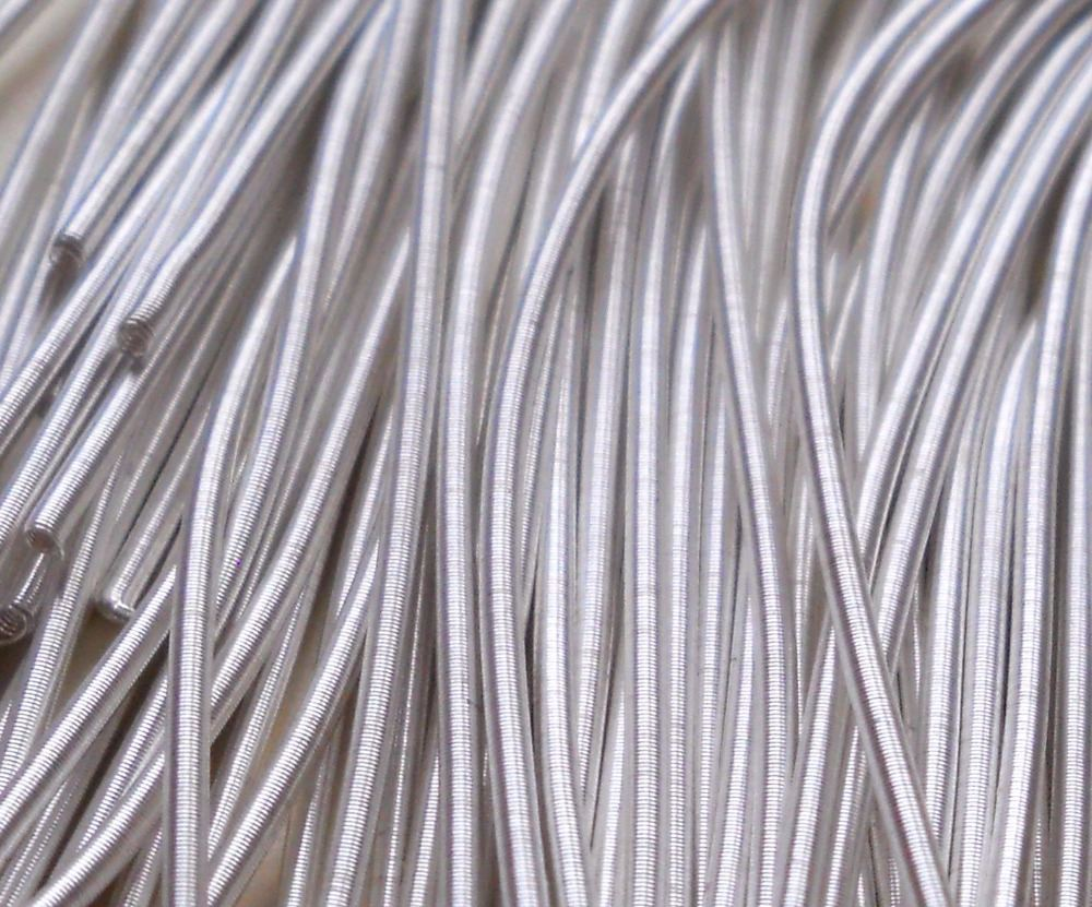 Silver metals and threads