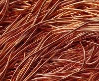 Goldwork copper smooth purl no. 6, 50cm