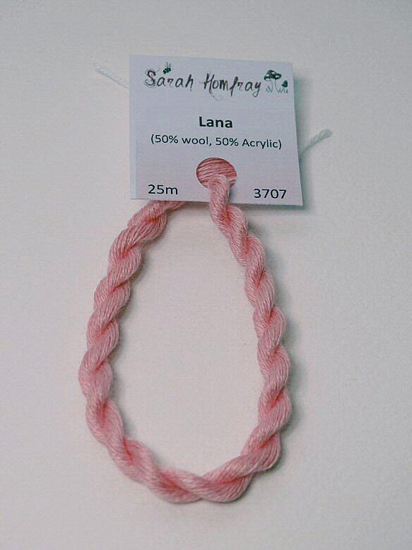 3707 Mid pink Lana thread (pink)