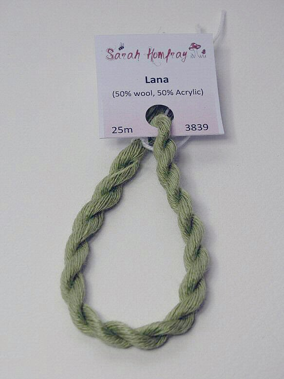 3839 Pale green Lana thread (green)