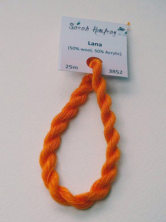 3852 Orange Lana thread (orange)