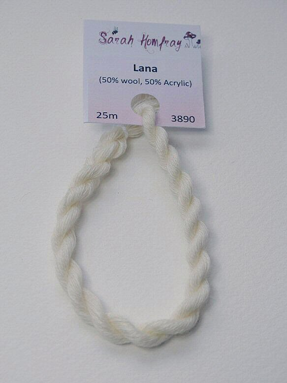 3890 Off white Lana thread (white)