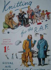 Knitting for the RAF