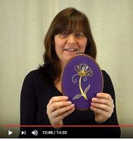 Goldwork video image