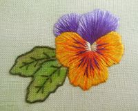 Silk shading 'Pansy' kit