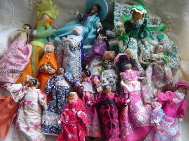 Peg doll group