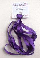 7mm Dark purple 2695 silk ribbon